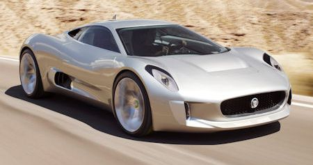 Jaguar C X75 2 in Jaguar C-X75: Die 780 PS starke Elektro-Turbine