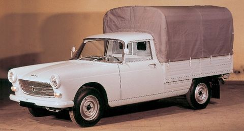 Peugeot-404-Pick-up in 50 Jahre Peugeot 404