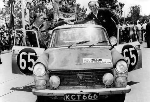 Peugeot-404-bei-der-East-African-Safari-1963 in 50 Jahre Peugeot 404