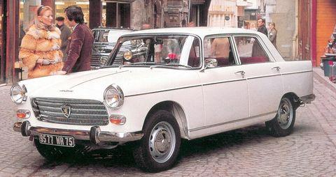 Peugeot-404 in 50 Jahre Peugeot 404