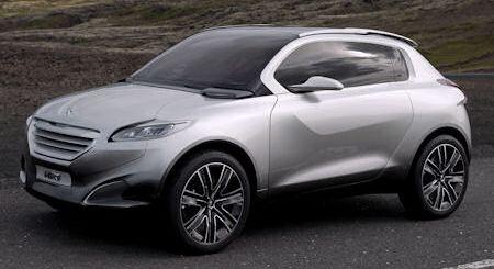 Peugeot HR1 2 in Peugeot HR1: Der Crossover-Hybrid für junge Städter