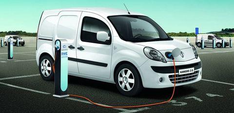 Renault-Kangoo-Rapid-Elektroauto in eCarTec: Tankstelle der Zukunft