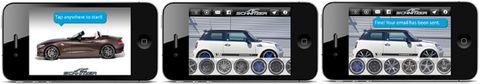 Ac-schnitzer-iphone-app in Mobiler Tuning-Fun: App Car Image Tool von AC Schnitzer