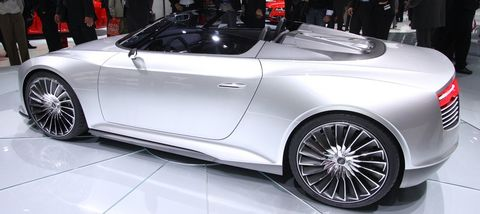 Audi-etron-spyder-1 in Elektrokonzept: Audi e-tron Spyder