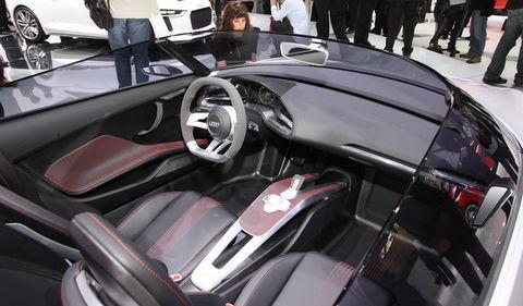 Audi-etron-spyder-3 in Elektrokonzept: Audi e-tron Spyder