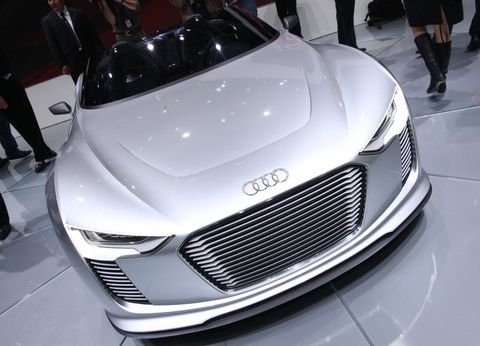 Audi-etron-spyder-4 in Elektrokonzept: Audi e-tron Spyder