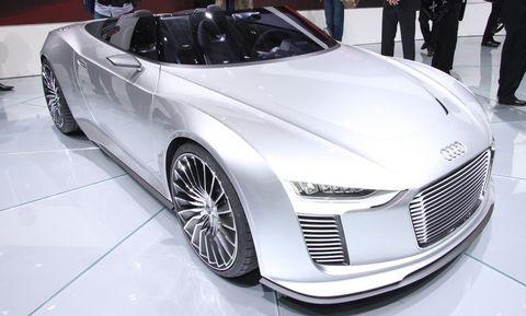 Audi-etron-spyder-5 in Elektrokonzept: Audi e-tron Spyder