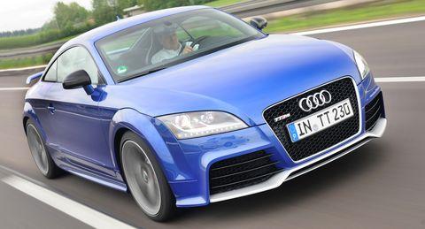 Audi-tt-rs in Schaltpower: Audi TT RS kriegt S tronic