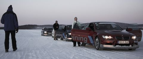 Bmw-wintertraining-2 in Auf zum Gletscher: BMW Snow and Ice Training