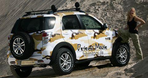 Daihatsu-terios-desert-mouse-concept-car-2 in Daihatsu Terios Desert Mouse: Für Wüste und Asphaltdschungel