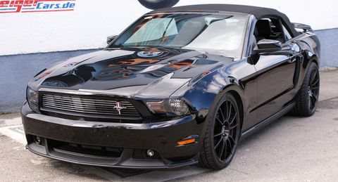 Ford-mustang-cabrio in GeigerCars: Ford Mustang 2011 mit Kompressor-Power