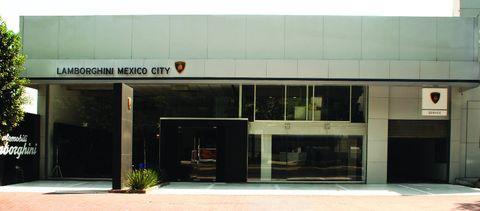 Lamborghini-mexiko-city in Zwei neue Lamborghini-Showrooms in Mexiko