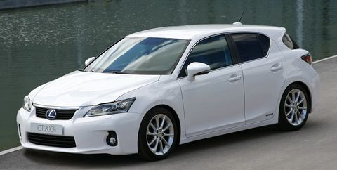 Lexus-ct200-h in
