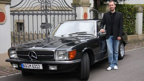 Martin-soder-mercedes-280-slc in