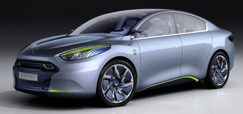 Renault-fluence-ze-1 in Elektroautos: Avis ordert bei Renault
