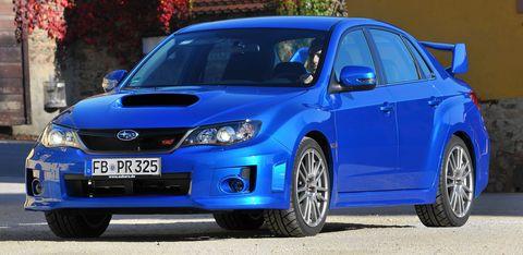 Subaru-wrx-sti-1 in Heckflügel-Comeback: Subaru WRX STI wieder als Viertürer