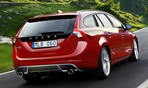 Volvo-v60-r-design in Volvo S60 und V60 im R-Design