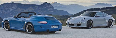 911-speedster-und-sport-classic in Jubiläum: 25 Jahre Porsche Exclusive