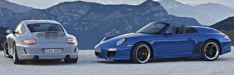 911-sport-classic-und-speedster in Jubiläum: 25 Jahre Porsche Exclusive