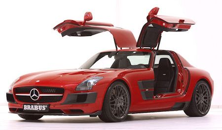 Brabus Mercedes SLS AMG Widestar 2 in