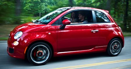 Fiat 500 Sport Nordamerika 2 in