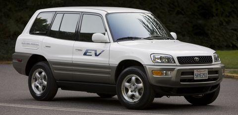 RAV4 EV - Erste Generation in Elektroauto: Toyota RAV4 EV Concept