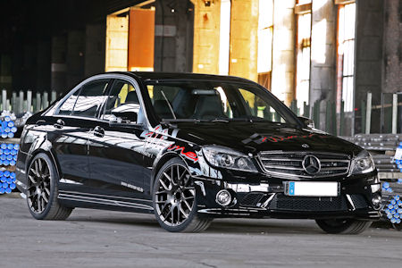 Wimmer Mercedes C 63 AMG Performance 1 in Wimmer Mercedes C 63 AMG Performance: Leistungsexplosion der Stufe 3