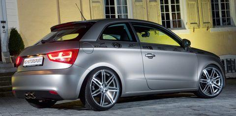 A1-hs-motorsport-2 in Mattes Stück - HS Motorsport Audi A1 1.4 TSI