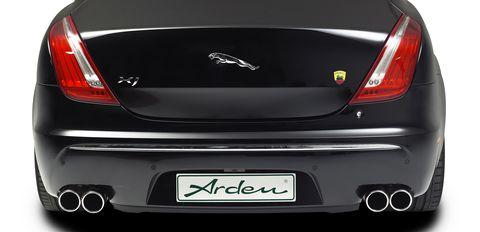 Arden-aj-22-3 in Edelstahl-Gleiter: Arden Jaguar AJ 22