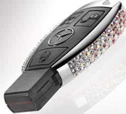 Mercedes-swarovski-3 in Mercedes: Schlüssel von Swarovski