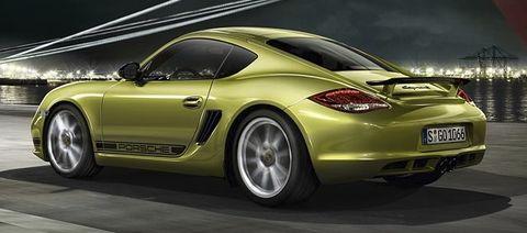 Porsche-cayman-r-4 in Porsche Cayman R - dem Krokodil wachsen Flügel