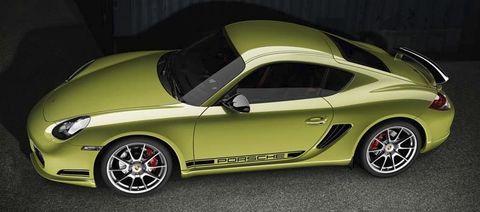 Porsche-cayman-r in Porsche Cayman R - dem Krokodil wachsen Flügel