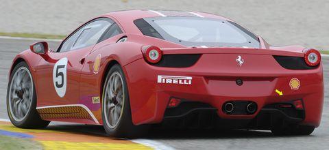 Ferrari-458-Challenge-2 in Ferrari 458 Challenge ist der Star in Bologna