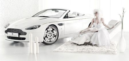 Graf Weckerle Aston Martin V8 Vantage Roadster Blanc De Blancs 2 in