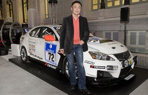 Kazunori-Yamauchi in Gran Turismo 5: Viele Lexus auf der Strecke