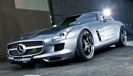 Kicherer SLS 63 Supersport 2 in Kicherer Mercedes SLS 63 Supersport: Geschärfte Athletik mit neuen Reizen