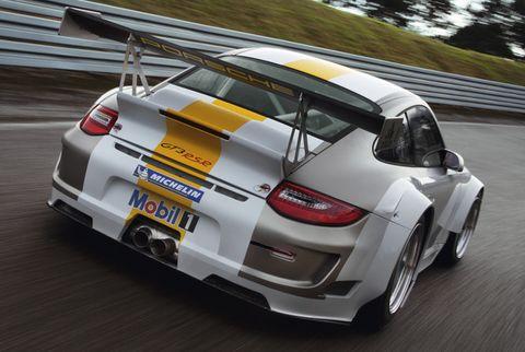 Porsche-911-GT3-RSR-1 in Weltpremiere des Porsche 911 GT3 RSR