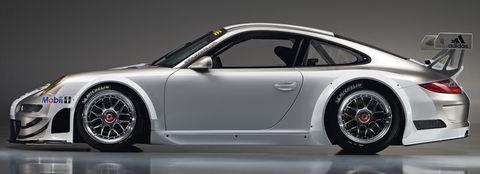 Porsche-911-GT3-RSR-2 in Weltpremiere des Porsche 911 GT3 RSR