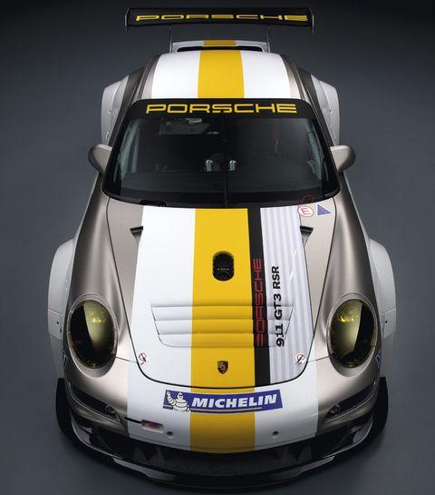 Porsche-911-GT3-RSR-5 in Weltpremiere des Porsche 911 GT3 RSR