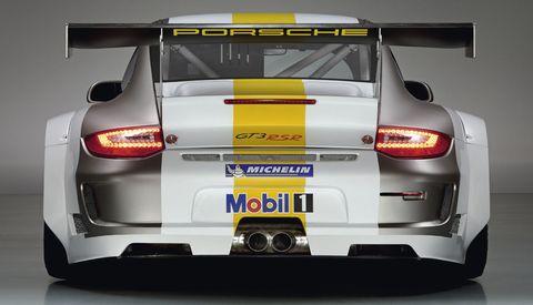 Porsche-911-GT3-RSR-7 in Weltpremiere des Porsche 911 GT3 RSR