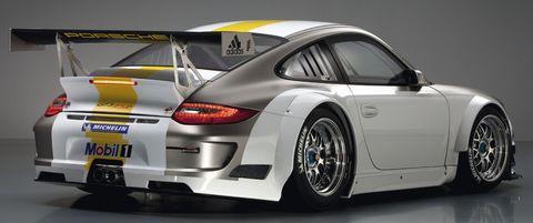 Porsche-911-GT3-RSR-8 in Weltpremiere des Porsche 911 GT3 RSR