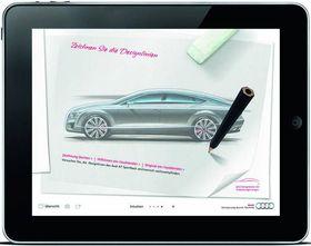 Audi-a7-sportback-ipad-app in iPad App: Audi A7 Sportback zum Designen