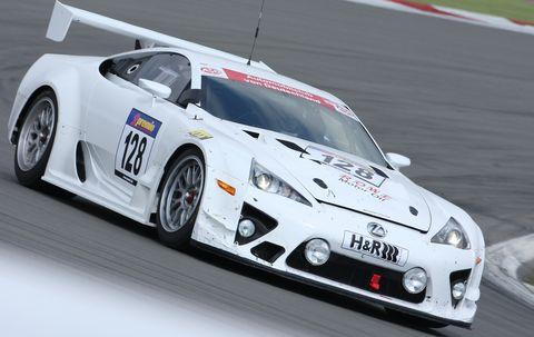 Lexus-lfa in Gran Turismo 5: Viele Lexus auf der Strecke