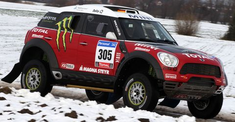 Mini-all4-racing-1 in Rallye Dakar: Mini All4 Racing
