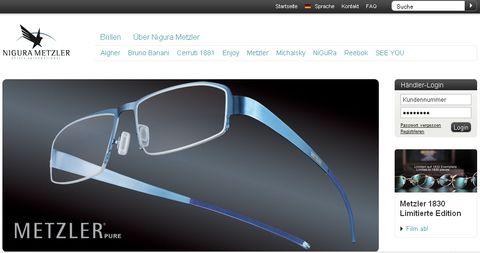 Nigura-metzler in Aston Martin: Eyewear-Kollektion mit Nigura Metzler
