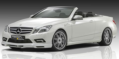 Piecha-design-mercedes-e-klasse-cabrio-1 in Neu verpackt: Mercedes-Benz E-Klasse Cabrio von Piecha Design