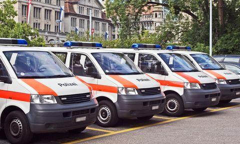 Schweizer-polizei in Harte Methoden in der Schweiz