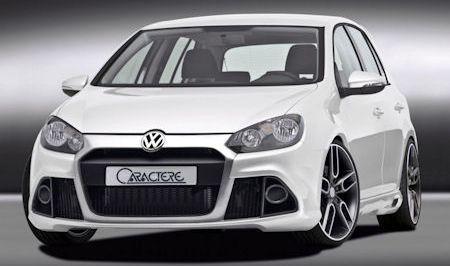 Caractere VW Golf VI 2 in Caractère VW Golf VI: Der Blickfang in der Masse