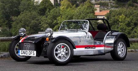 Caterham Roadsport 125 Monaco 2 in Caterham Roadsport 125 Monaco: Seven im Casino-Style
