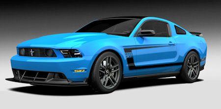 Ford Mustang Boss 302 Laguna Seca Grabber Blue 2 in Ford Mustang Boss 302 Laguna Seca: Blaues Unikat kommt unter den Hammer